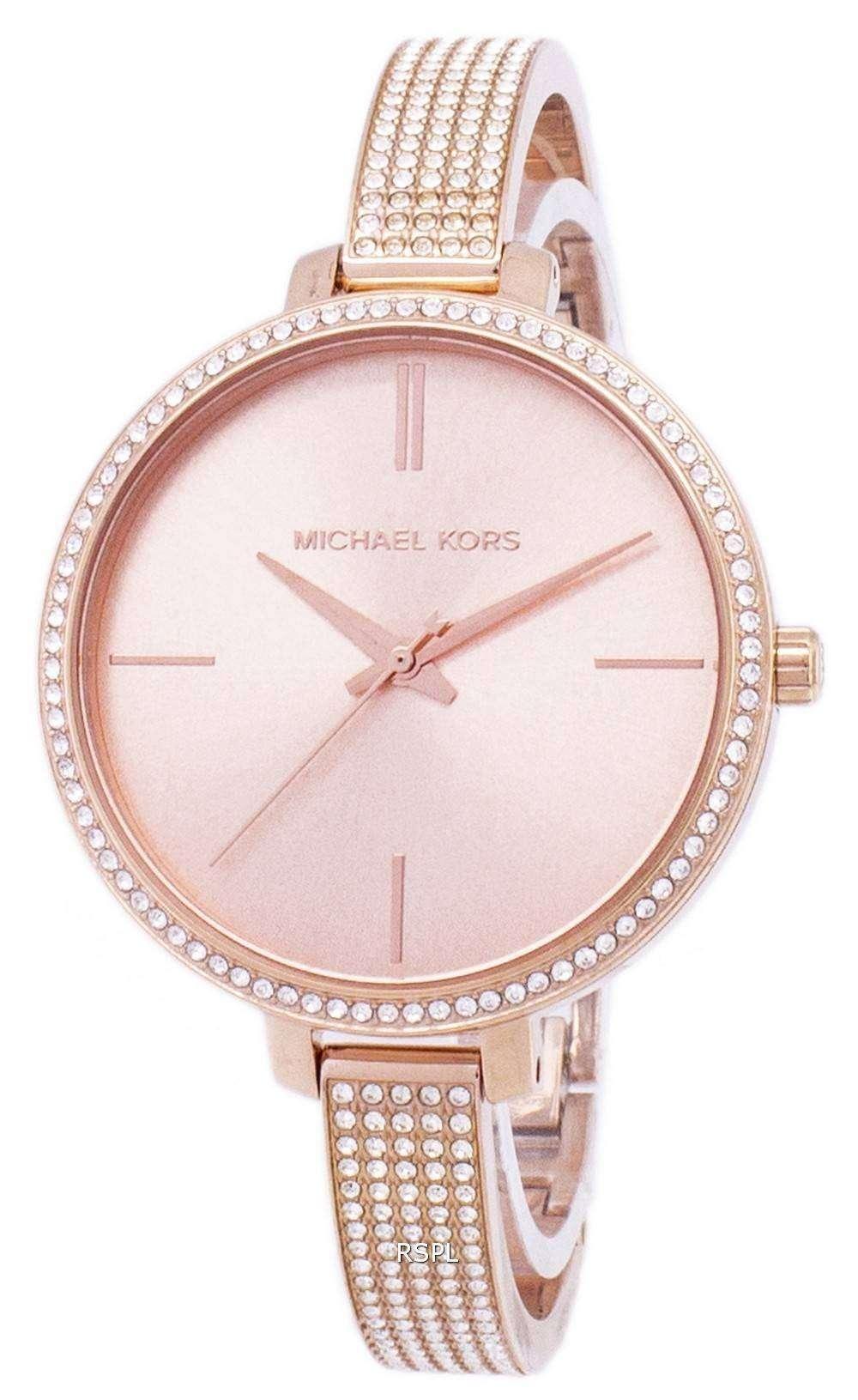 6b15b9e706ac Michael Kors Jaryn Quartz Diamond Accents MK3785 Women s Watch ...