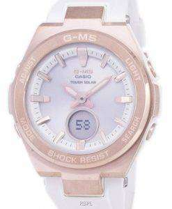 Casio G-MS Tough Solar Shock Resistant Analog Digital MSG-S200G-7A MSGS200G-7A Women's Watch