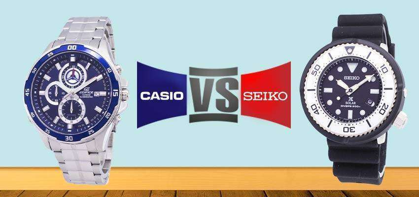 Casio VS Seiko