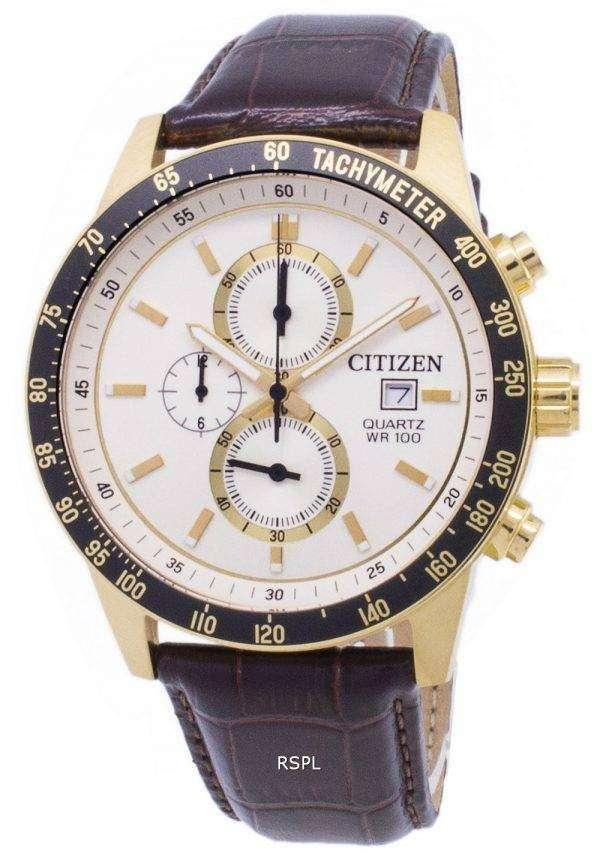 Citizen Chronograph AN3602-02A Tachymeter Quartz Men's Watch 1