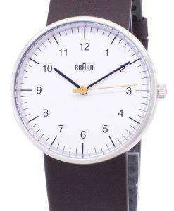 Braun Classic BN0021WHBRG Analog Quartz Men's Watch