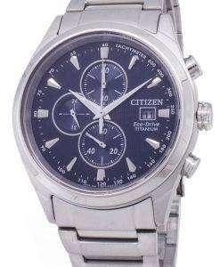 Citizen Eco-Drive CA0650-82M Titanium Chronograph Men's Watch