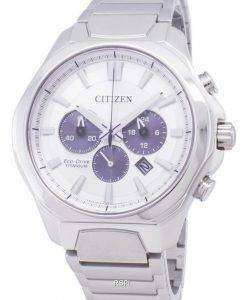 Citizen Eco-Drive CA4320-51A Titanium Chronograph Men's Watch