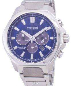 Citizen Eco-Drive CA4320-51L Titanium Chronograph Men's Watch