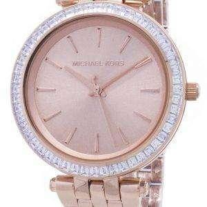 Michael Kors Mini Darci Crystals Rose Gold Tone MK3366 Womens Watch