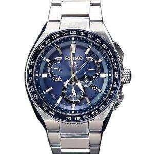 Seiko Astron SBXB155 GPS Solar Titanium Power Reserve Japan Made Men's Watch