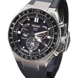 Seiko Astron SBXB169 GPS Solar Titanium Power Reserve Japan Made Men's Watch
