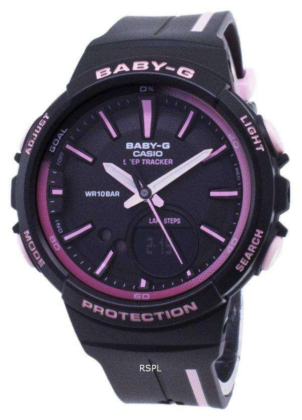 Casio Baby-G BGS-100RT-1A BGS100RT-1A Step Tracker Analog Digital Women's Watch 1