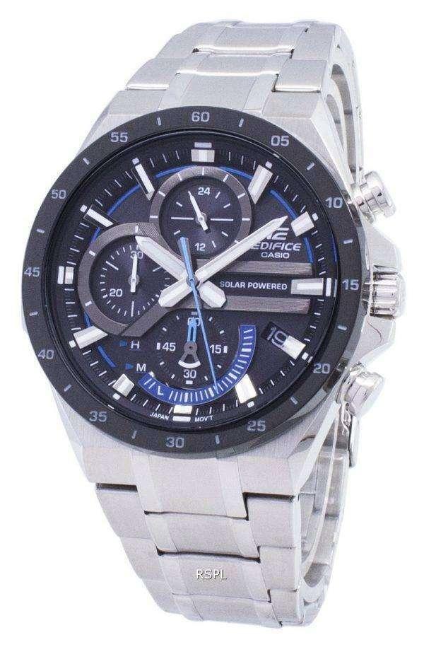 Casio Edifice EQS-920DB-1BV EQS920DB-1BV Solar Chronograph Men's Watch 1