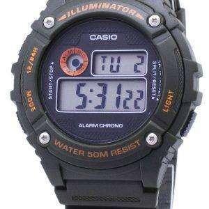 Casio Youth W-216H-3BV W216H-3BV  Illuminator Quartz Unisex Watch