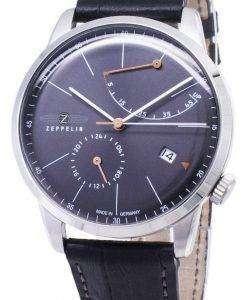 Zeppelin Series Flatline 7366-2 73662 Automatic Germany Made Men's Watch