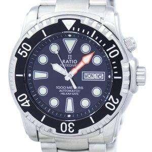 Ratio II Free Diver Helium-Safe 1000M Automatic 1068HA96-34VA-00 Men's Watch
