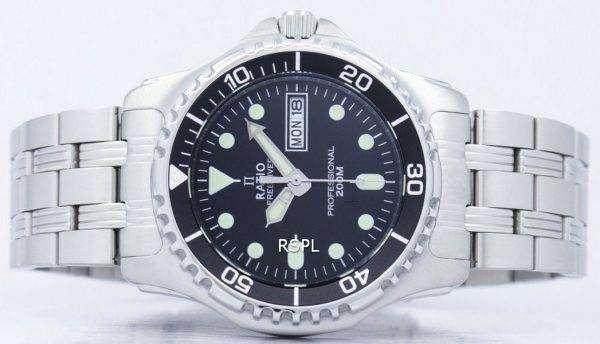Ratio II Free Diver Professional 200M Quartz 36JL140 Men's Watch