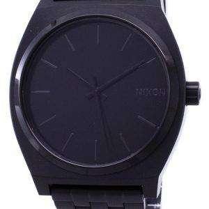 Nixon Quartz Time Teller 100M A045-001-00 Mens Watch