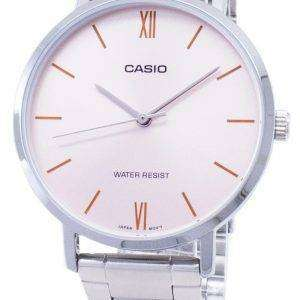 Casio Quartz LTP-VT01D-4B LTPVT01D-4B Analog Women's Watch