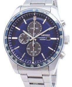 Seiko Discover More SSC719 SSC719P1 SSC719P Chronograph Tachymeter Men's Watch
