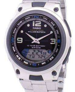 Casio Analog Digital Out Gear Fishing Illuminator AW-82D-1AVDF AW82D-1AVDF Men's Watch