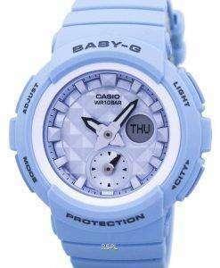 Casio Baby-G Shock Resistant World Time Analog Digital BGA-190BE-2A BGA190BE-2A Women's Watch