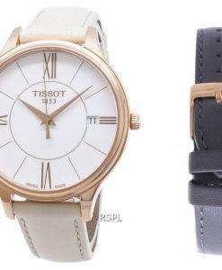 Tissot T-Lady Bella Ora Round T103.210.36.018.00 T1032103601800 Quartz Women's Watch