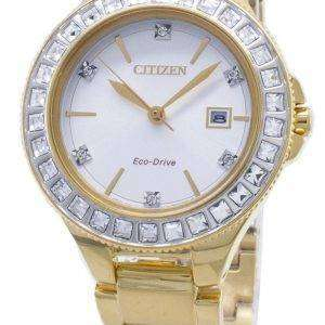 Citizen Silhouette Eco-Drive FE1192-58A Swarovski Crystal Women's Watch