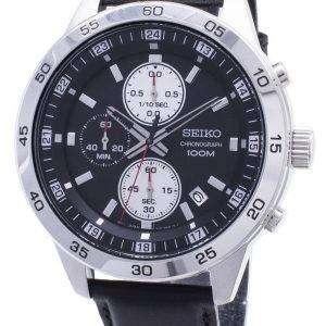 Seiko Chronograph SKS649 SKS649P1 SKS649P Quartz Analog Men's Watch