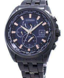 Citizen Eco-Drive Global Radio-Controlled AT9039-51L Japan Made 200M Men's Watch