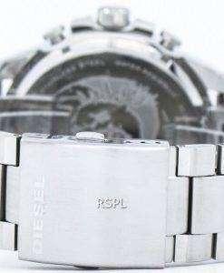 Diesel Mega Chief Quartz Chronograph Black Dial DZ4308 Mens Watch