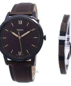 Fossil The Minimalist 3H Quartz FS5557SET Men's Watch