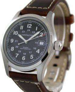 Hamilton Khaki Field Black Dial H70455533 Mens Watch