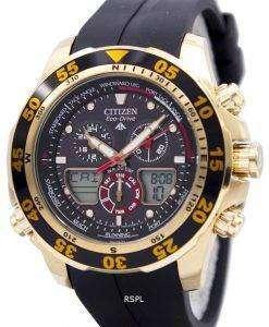 Citizen Eco-Drive Promaster Chronograph World Time JR4046-03E JR4046 Mens Watch