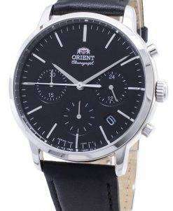 Orient Contemporary Chronograph RA-KV0303B00C Quartz Japan Made Men's Watch