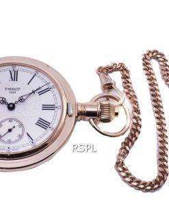 Tissot T-Pocket Savonnette Mechanical T864.405.99.033.01 T8644059903301 Automatic Pocket Watch