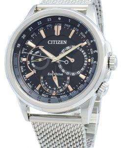 Citizen Calendrier Eco-Drive BU2020-70E Chronograph World Time Men's Watch