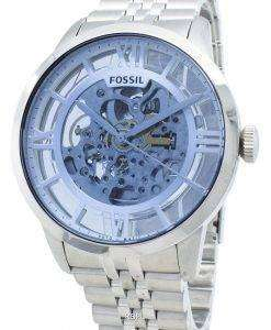 Refurbished Fossil Townsman ME3073 Automatic Skeleton Dial Men's Watch