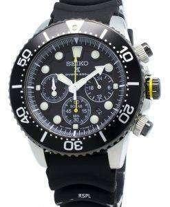 Refurbished Seiko Solar SSC021 SSC021P1 SSC021P Chronograph Diver's 200M Men's Watch
